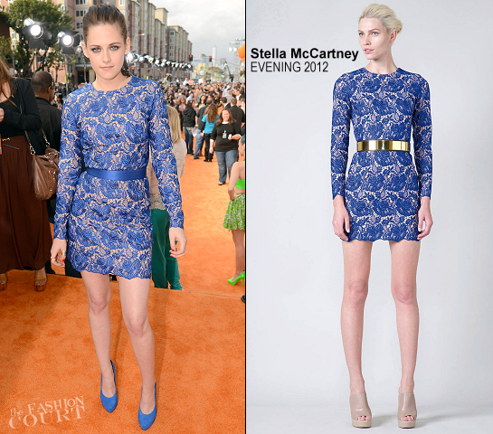 Kristen Stewart in Stella McCartney | 2012 Kids' Choice Awards