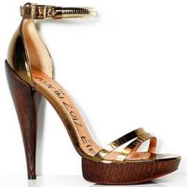 Lanvin Spring 2012 Ankle-Strap Platform Sandals