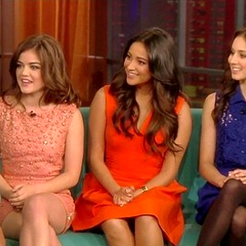 Lucy Hale in Rachel Roy | 'The View'