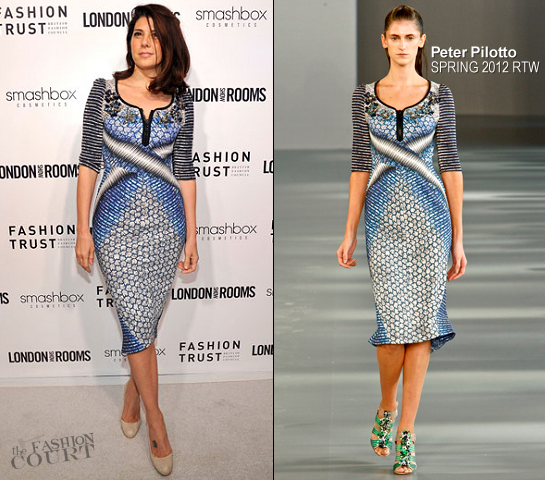Marisa Tomei in Peter Pilotto | British Fashion Council's 'LONDON Show ROOMS LA' Cocktail Party