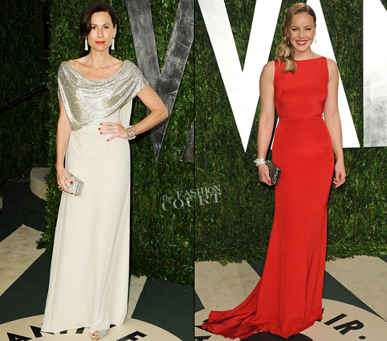 Minnie Driver and Abbie Cornish Make A Dazzling Vanity Fair Oscar Party Appearance!