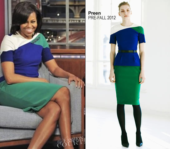 Michelle Obama in Preen | 'Late Show with David Letterman'