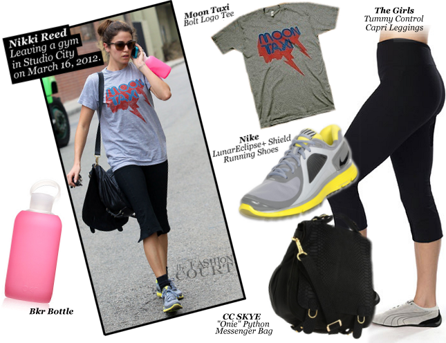 Nikki Reed Works On Her Fitness in The Girls Apparel & Nike!