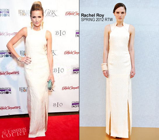 Shantel VanSanten in Rachel Roy | Drawing Hope International Masquerade Gala Dinner
