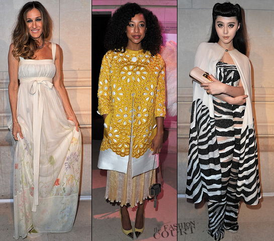 Sarah Jessica Parker, Corinne Bailey Rae & Fan Bingbing | 'Louis Vuitton - Marc Jacobs: The Exhibition' Opening