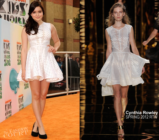 Ariel Winter in Cynthia Rowley | 2012 Kids' Choice Awards