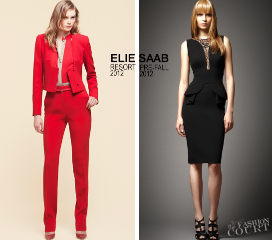 ELIE SAAB - Resort 2012 and Pre-Fall 2012