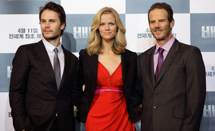 Brooklyn Decker in Katie Ermilio | 'Battleship' Seoul Photocall