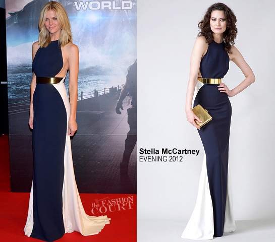 Brooklyn Decker in Stella McCartney | 'Battleship' Tokyo Premiere