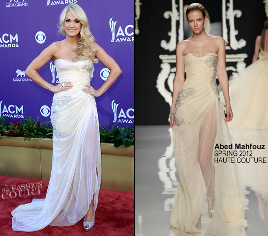 Carrie Underwood in Abed Mahfouz Couture | 2012 Academy Of Country Music Awards