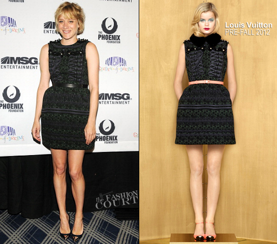 Chloe Sevigny in Louis Vuitton | 2012 Garden Of Dreams Talent Show