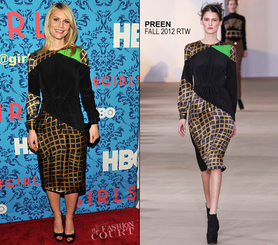 Claire Danes in Preen | HBO's 'Girls' NY Premiere