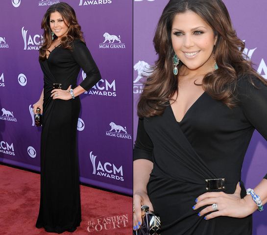 Hillary Scott in Emilio Pucci | 2012 Academy Of Country Music Awards