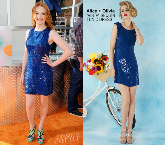 Jacqueline Emerson in Alice + Olivia | 2012 Kids' Choice Awards