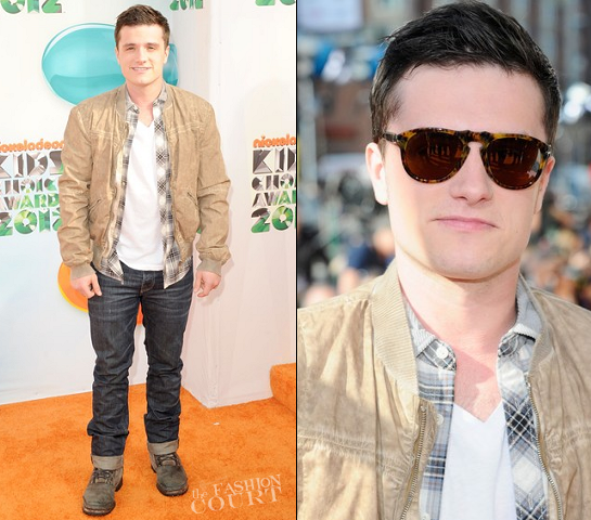 Josh Hutcherson, Taylor Lautner & Justin Bieber Get Slimed in Dolce & Gabbana at the 2012 KCAs!