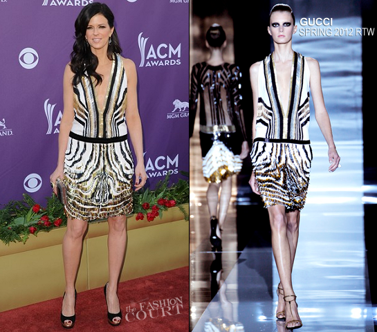 Karen Fairchild in Gucci | 2012 Academy Of Country Music Awards