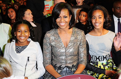 Michelle Obama in Wes Gordon | 2012 Kids' Choice Awards