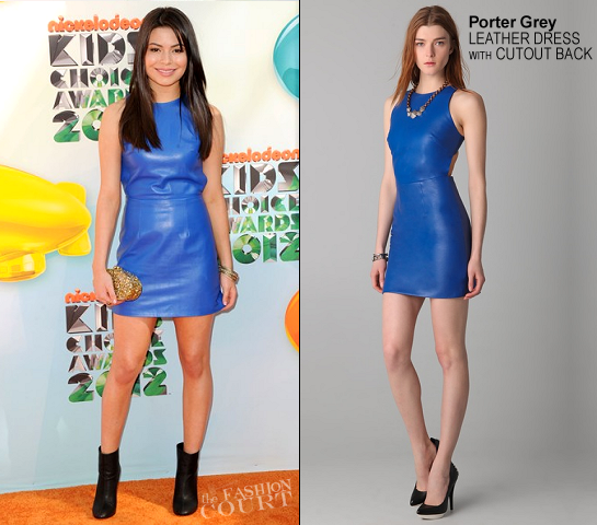 Miranda Cosgrove in Porter Grey | 2012 Kids' Choice Awards
