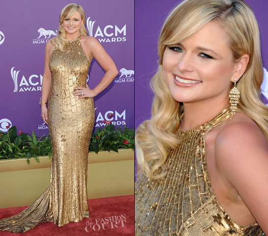 Miranda Lambert in Randi Rahm | 2012 Academy Of Country Music Awards