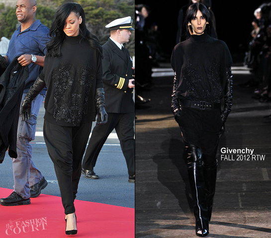 Rihanna in Givenchy | 'Battleship' Japan Photocall