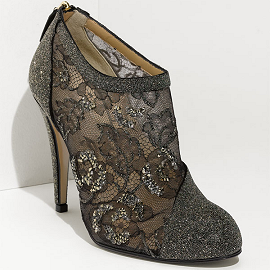 Valentino Crystal-Embellished Booties